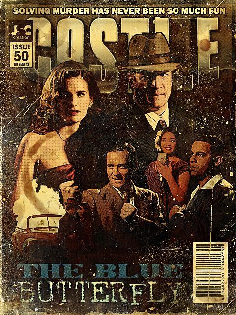 The Blue Butterfly #Castle #TV <3