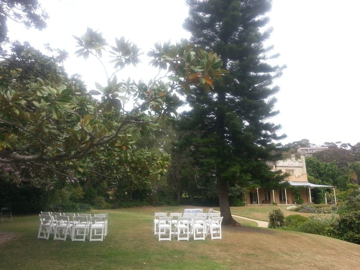 Lone Pine Lawn, Vaucluse House, Sydney  Photo by: Lillian Lyon Marriage Celebrant www.lyonheart.com.au