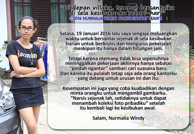 Nurmalia Windy - Fotografer Purwokerto | Windygraphy | Fotografer Wedding | Fotografer Prewedding: Saat aku berada di villaku - Nurmalia Windy Photog...