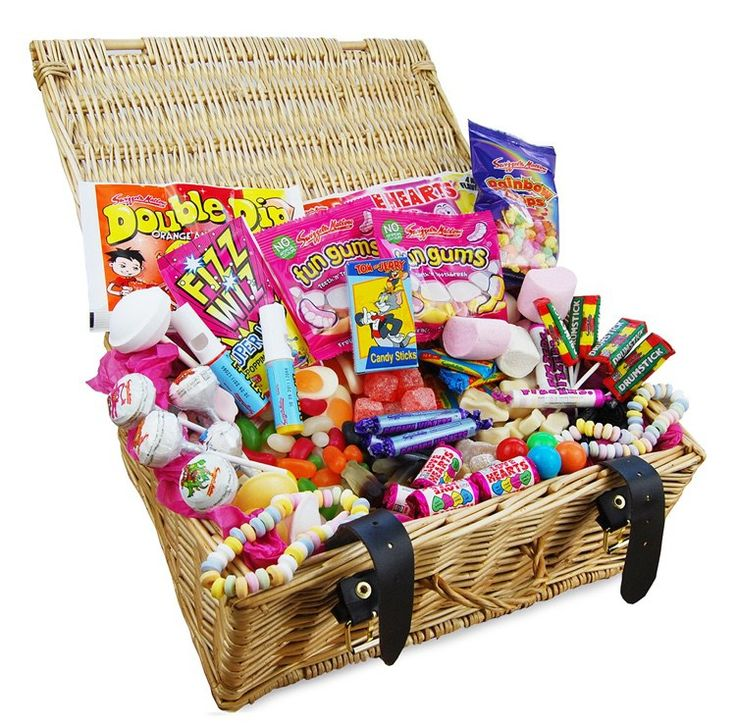 Retro sweet hampers are ideal gifts. Here I review one from Personalised Parties and give you my views and star rating out of 5.
