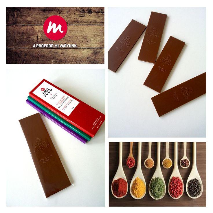 Custom chocolate bar for ProFood