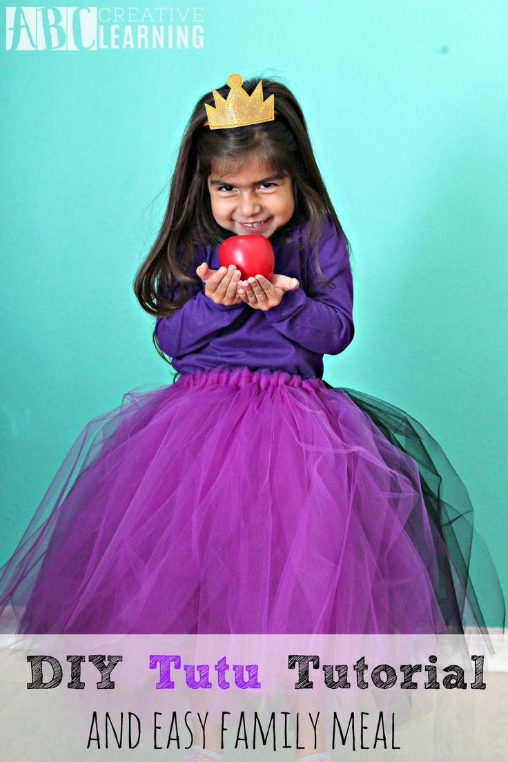 DIY Tutu Tutorial Perfect For Birthday Parties or Pretend Play! - abccreativelearning.com