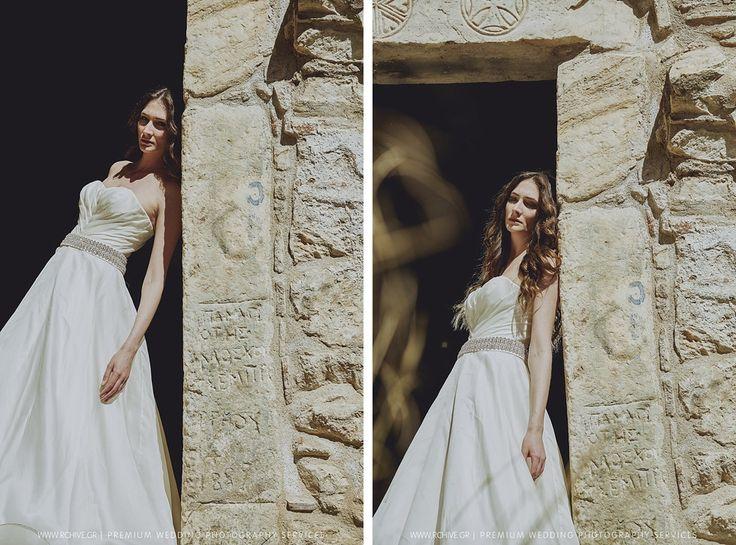 Editorial wedding dress photos