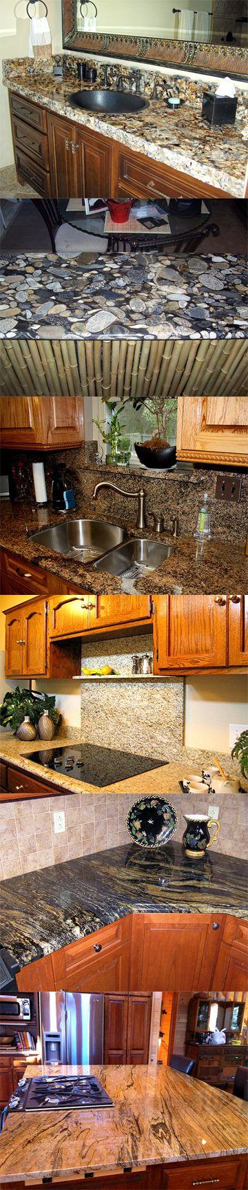 Types of granite countertops