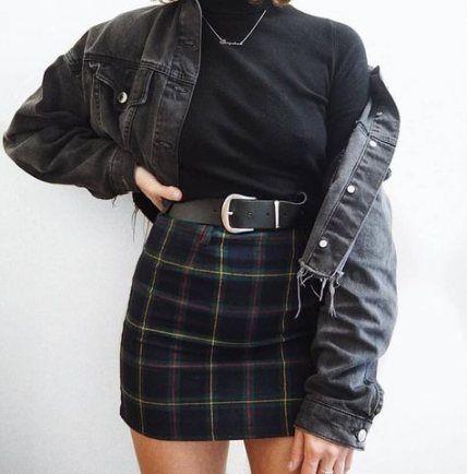 Best Skirt Outfits Baddie Denim Ideas