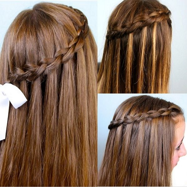 Natural Long Hair Girl Hairstyles For School Models If You Should Be Seeking To Discover The Best Hairstyle For Y Girly Hairstyles Hair Styles Long Hair Girl