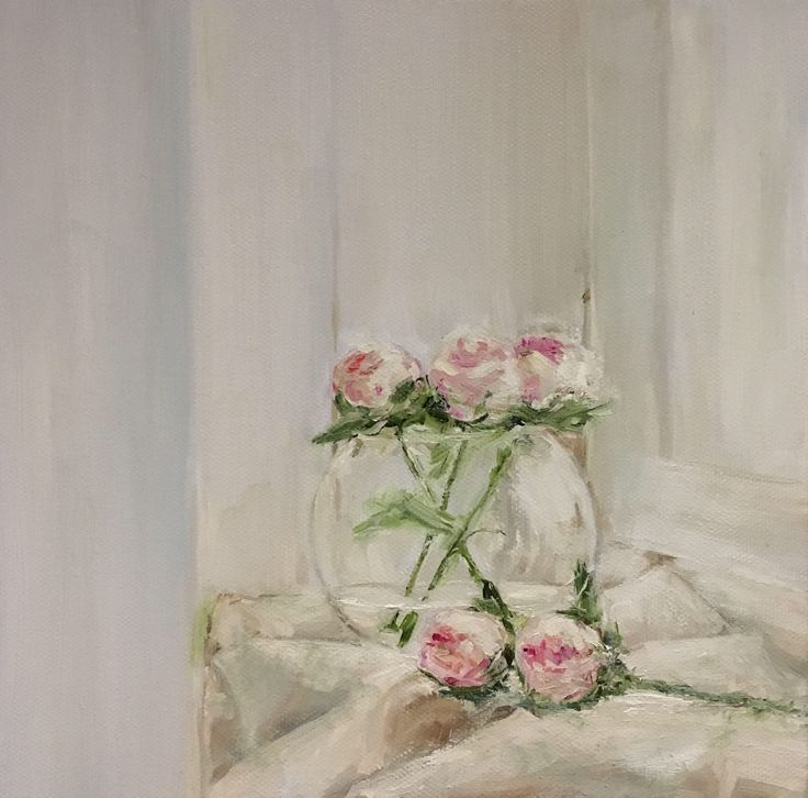 A personal favourite from my Etsy shop https://www.etsy.com/listing/511334760/flowers-painting-on-canvas-realism
