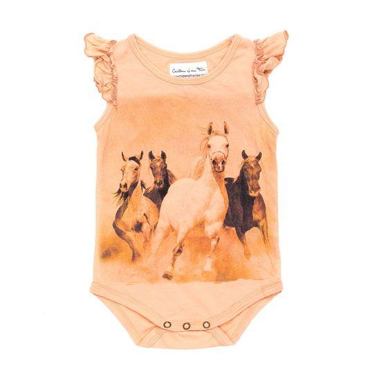 Horses Run Wild Romper - Children of the Tribe