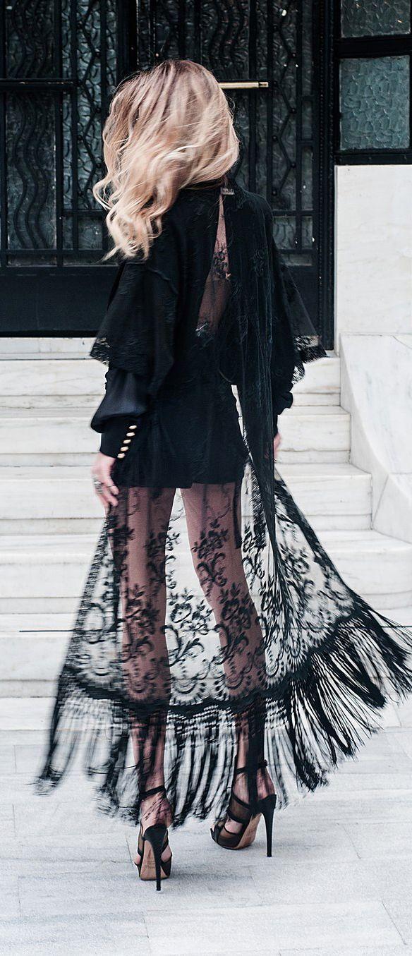 fringe and lace