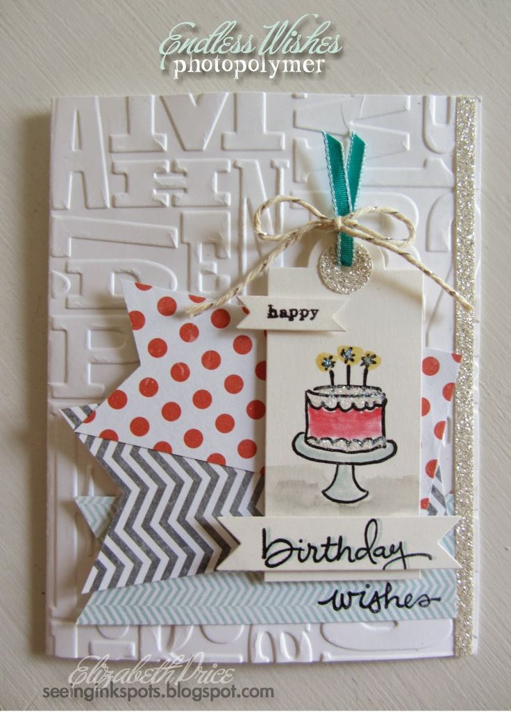 Seeing Ink Spots: Endless Wishes, A Great New Stamp Set