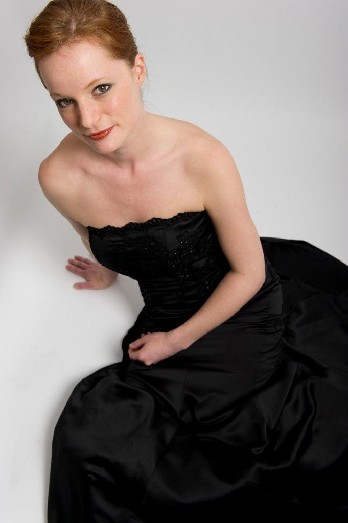 Swiss Mezzo-Soprano Anna Traub. Check out her interview at How to Be A Redhead.