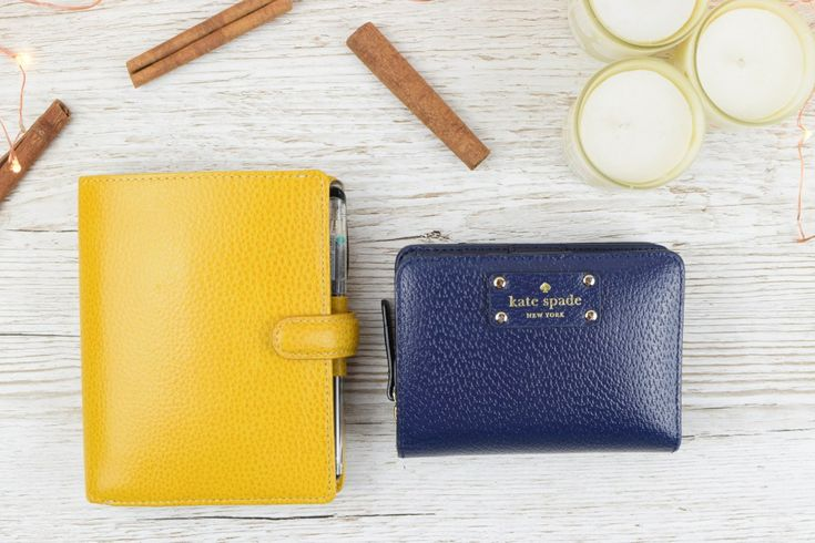 Pocket Finsbury in Yellow | Filofax Purse | Kate Spade Purse