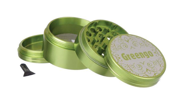 Greengo Grinder 4 Parts 50 Mm greengo-products.com