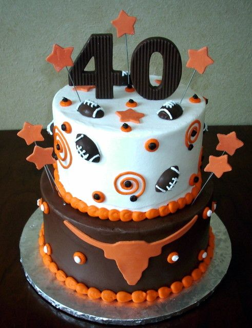 longhorns cake    Re-Pinned by http://high5collegeclub.com