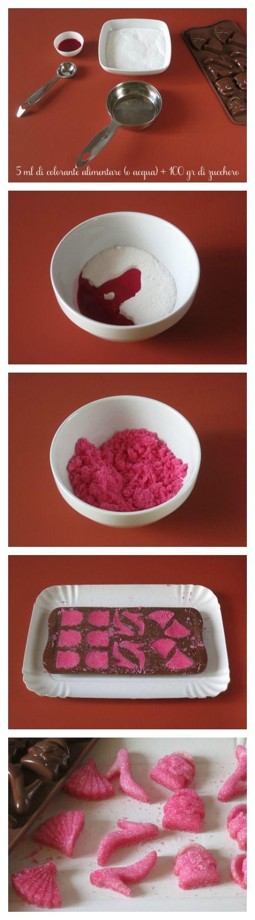 Zuccherini decorativi tutorial