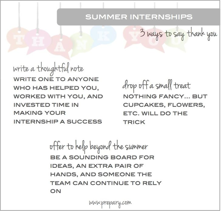 82 best The Graduate images on Pinterest Career advice, Career and - internship thank you letter