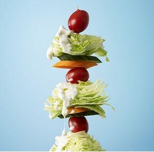 Wedge Salad Kabobs