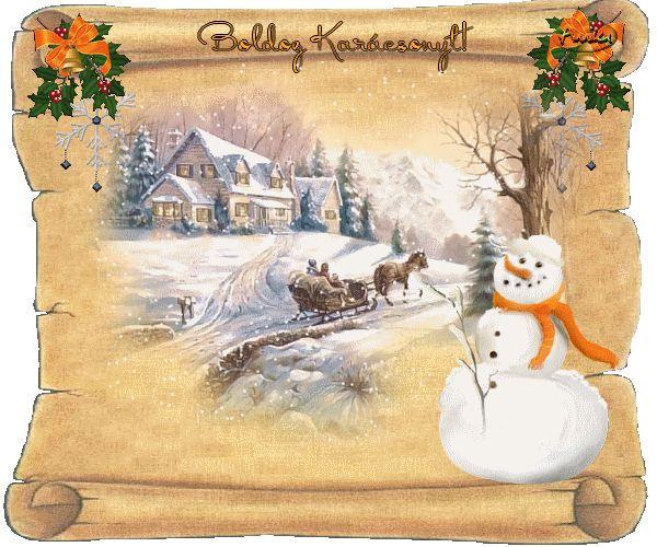 Boldog Karácsonyt! képeslapok