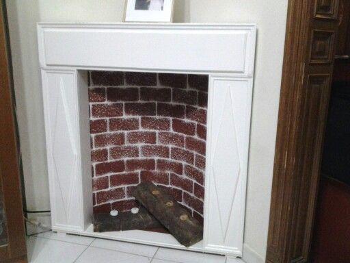 My fake fireplace