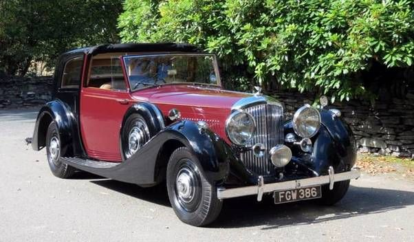 1938 BENTLEY 4.25-LITRE BROUGHAM DE VILLE - coachwork by James Young & Company of Bromley, UK.