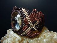 Macrame Bracelet Wristband Garden Quartz Stone Gemstone Handmade Handcrafted