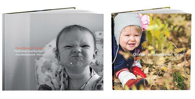 Valitse kuvakirjasi kanteen valokuva virnistyksestä tai erikoisesti rajattu kuva. Lue lisää ifolorin Kansi kertoo kaiken -artikkelista: http://www.ifolor.fi/inspire_kansi_ideat