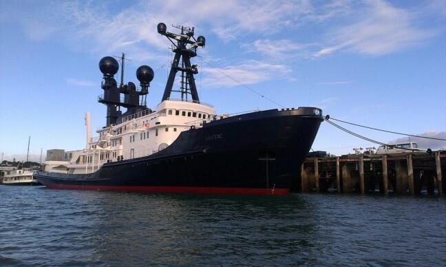 Arctic P - ex ocean going salvage tug.