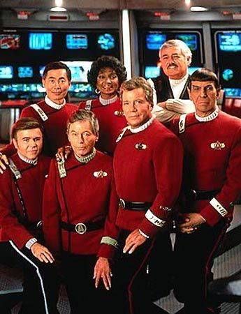 star trek photo gallery | The original 'Star Trek' TV cast: Walter Koonig as Chekov, George ...