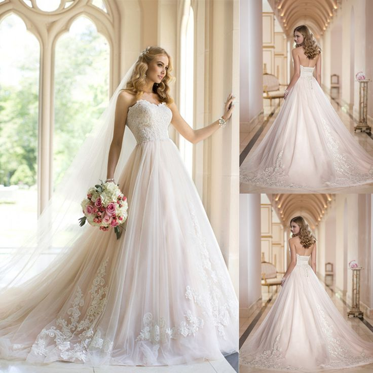 Find More Wedding Dresses Information About Vestido De Noiva 2014 Romantic Fashionable Sweetheart Ball Gown Princess