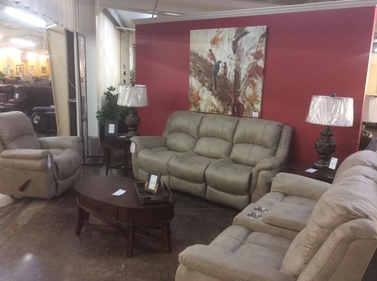 Akins Furniture Picked Up A New Company At Market   Behold Home Motion  Furniture Company. The Price Is Just As Pretty As The Group: Sofa $599 (2  Recliners) ...