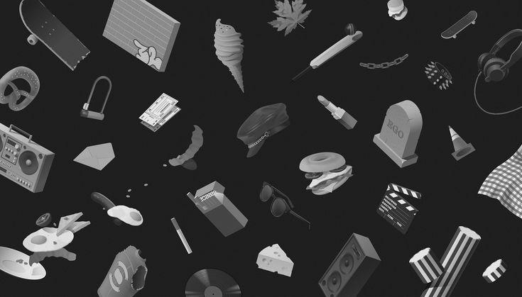 Stinkdigital illustrations - Facultative Works