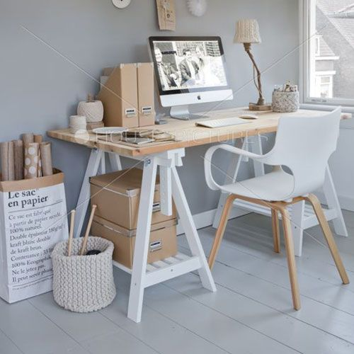 Las 25 mejores ideas sobre peque os espacios de oficina - Decoracion oficina pequena ...