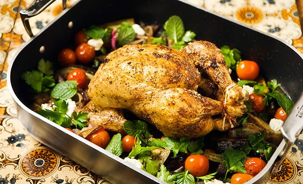 Spiced Roast Chicken - Chicken Channel