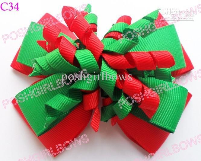 Best 25 Christmas Hair Bows Ideas On Pinterest Diy Christmas  - Christmas Tree Hair Bows