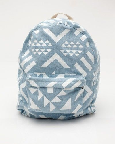 Geometric backpack / DusenBackpacks, Back To Schools, Style, Dusen Dusen, Beach Bags, Graphics Pattern, Women Accessories, Tribal Prints, Tribal Pattern