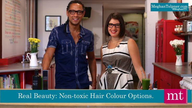 Non-Toxic Hair Colour Solutions | MeghanTV