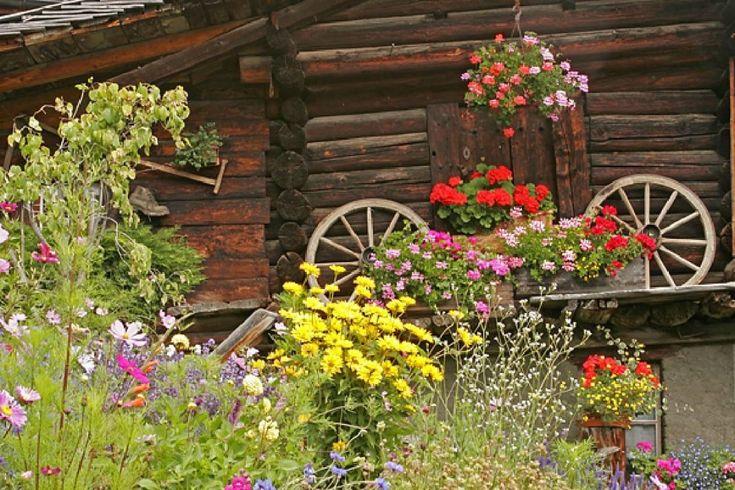 10 основных элементов швейцарского сада. Швейцарский стиль ландшафтного дизайна - Ботаничка.ru