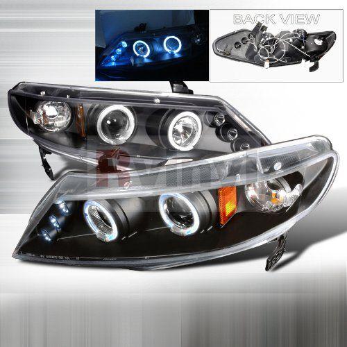 Honda Civic Sedan 2006 2007 2008 2009 2010 2011 LED Halo Projector Headlights - Black Smoke Spec-D Tuning http://www.amazon.com/dp/B00771TFK6/ref=cm_sw_r_pi_dp_PoYvub1XJ9HFJ