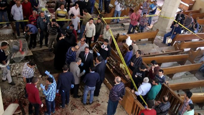 Copts massacred in Palm Sunday church bombings | World | The Times & The Sunday Times