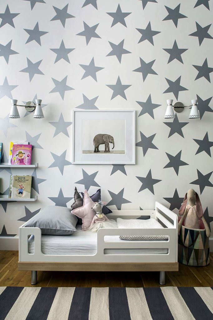 «Звездный» дизайн детской комнаты от Sissy   Marley