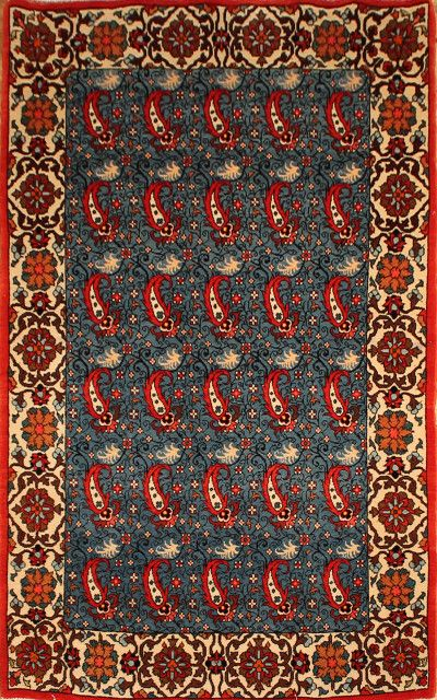Abadeh Size: 3'4 X 5'5 1960's  | Shabahang & Sons