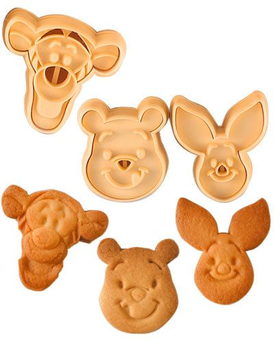 Winnie the pooh & Tigger Cookie cutters. $9.00, via Etsy.