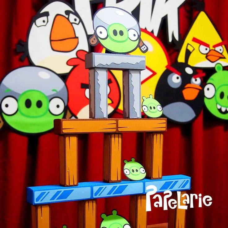 116 best Angry Birds Party Ideas images on Pinterest Bird