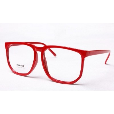 $7 Fausse Lunette Geek Rouge