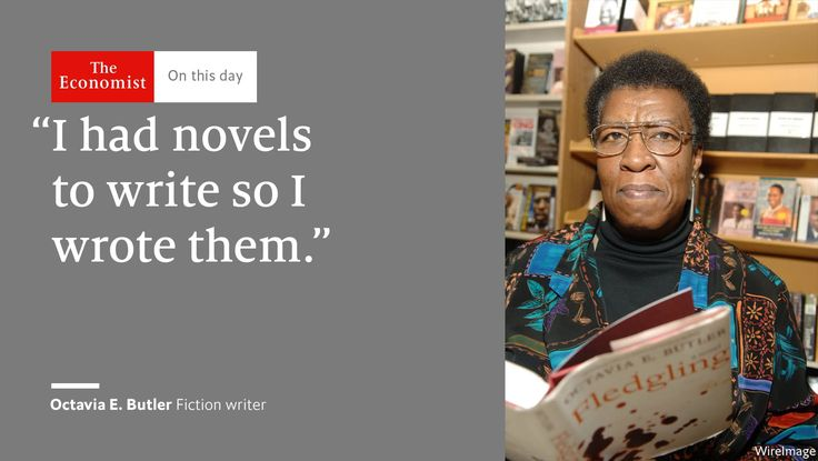 The first science fiction writer to receive the MacArthur Fellowship Octavia Butler was born #OnThisDay 1947#Sober Look素材On this dayThe Economist #June 22 2017 at 10:19PM#via IF