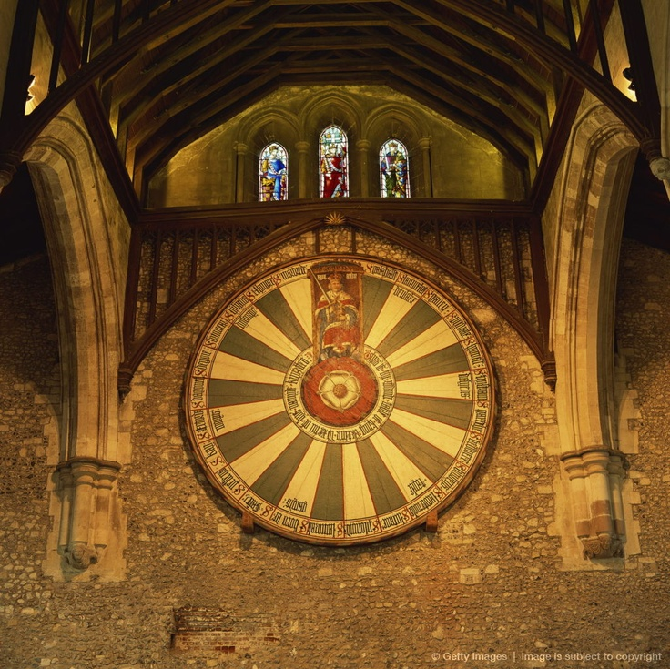 436 best history facts images on pinterest brave women irena king arthurs round table mounted on wall of castle hall winchester england fandeluxe Choice Image