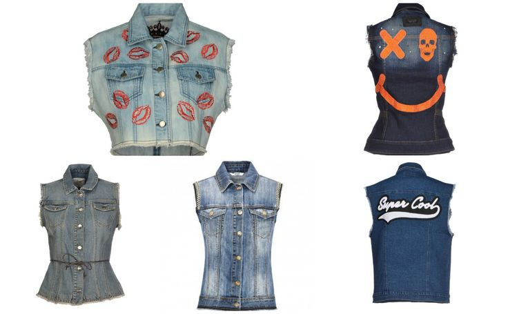10 ways to match your jeans gilet perfectly! Get the look! http://junglam.com/featured/come-abbinare-il-gilet-di-jeans-10-outfit-da-copiare/