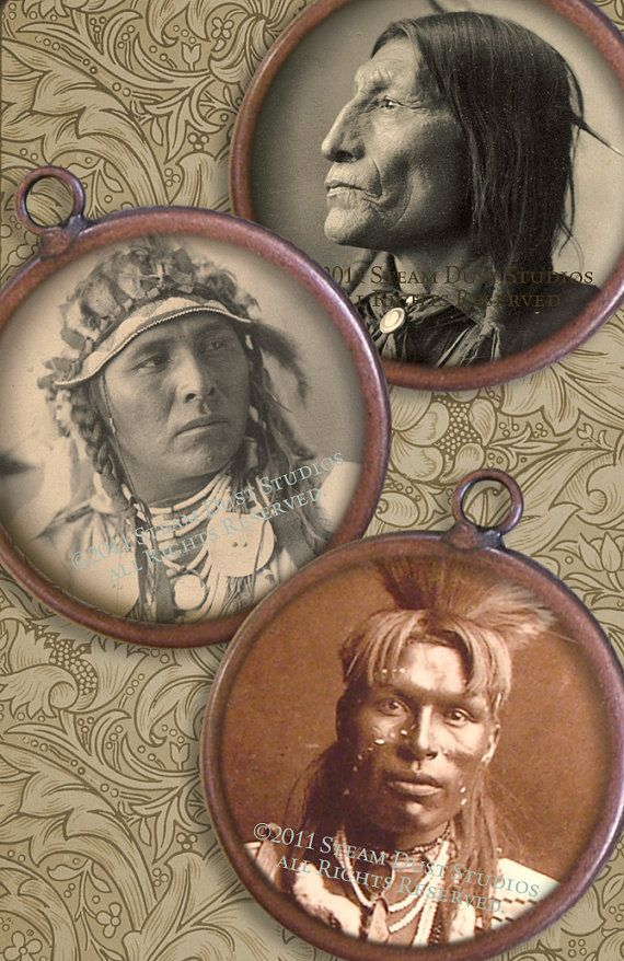19th Century Native American Indian Portraits  by steamduststudios, $3.90