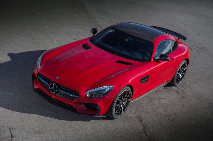 2016 Mercedes AMG GT S Edition 1 Overhead 2 - Provided by Automobile