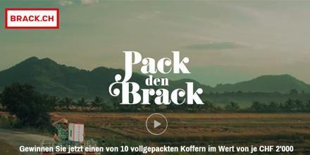 Die neue BRACK.CH-Sommerkampagne heisst «Pack den Brack» | werbewoche